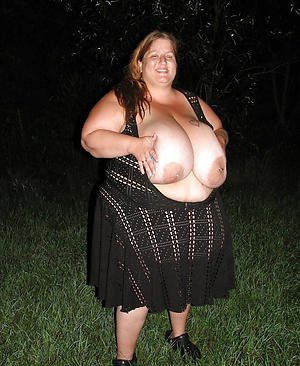 big tits on older women posing nude
