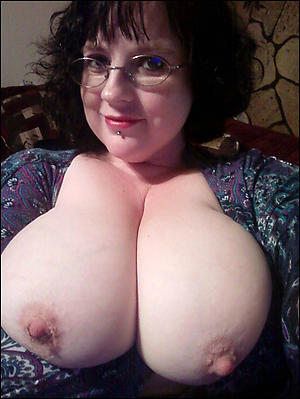 crazy big tits on older women