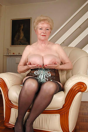 sexy old women in lingerie
