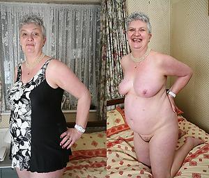 nude granny dressed undressed