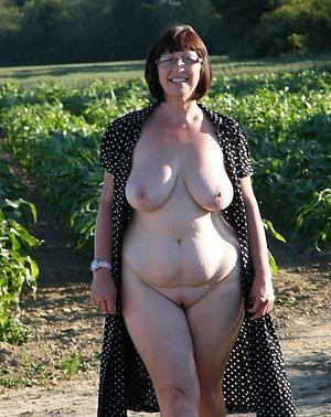 venerable chubby body of men posing nude