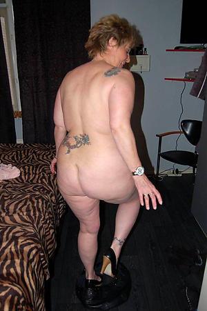 nude pics of mature granny irritant