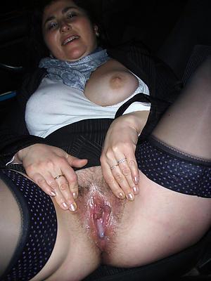 naked elder vagina
