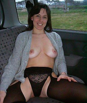 brunette granny private pics