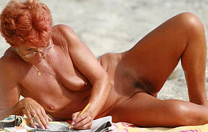 xxx pictures of granny nude beach