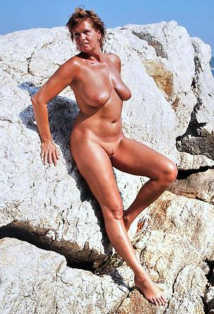 sexy granny nude beach