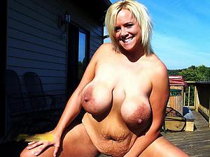unorthodox pics of grey lady big tits