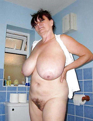 spot on target busty granny porn pic