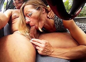 nice granny gives blowjob