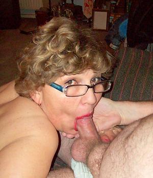 nude granny gives blowjob pics