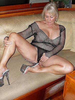 busty granny in heels