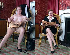 amazing granny dressed undressed galleries