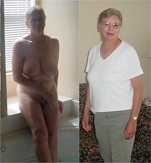lickerish granny dressed undressed pics