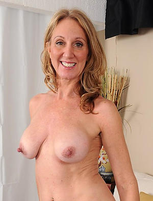 nude old lady with distress nipples