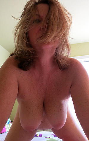 horny self shot at older column