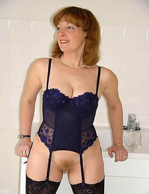 erotic beauty granny mature lingerie pussy