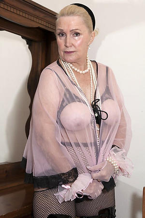titillating beauty elegant granny