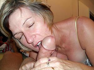older woman blowjob amateur pics