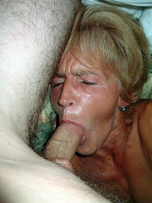 nasty older milf blowjob