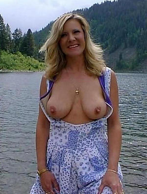 unsightly tits mature girlfriend