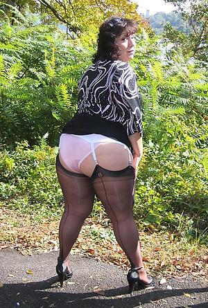 granny in heels porn pic