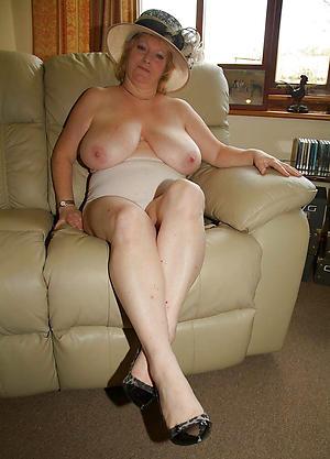Bohemian pics of nude elegant granny