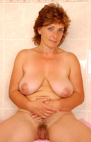 granny twat added to unsightly tits