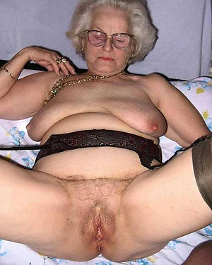 hot wet granny vagina stripping