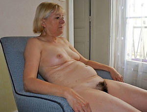 hot grey granny pussy stripping