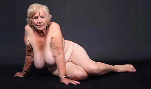 nasty tits added to old granny pussy