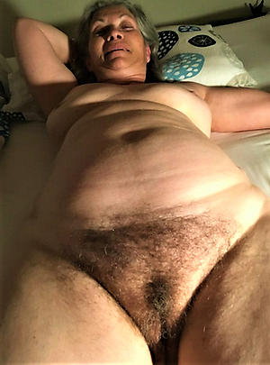 hot hairy old granny stripping