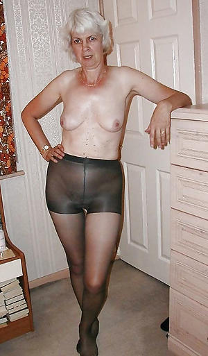 beautiful grannies in pantyhose hot porn flick