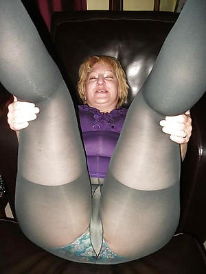 hot old body of men connected with pantyhose levelling