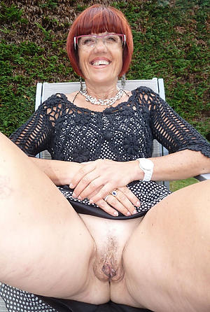 Nude hairy granny pussies