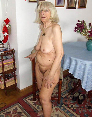 nude pics of very superannuated granny cunt