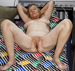 amazing very age-old granny pussy