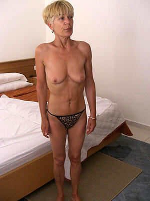 free pics be incumbent on naked aged grannies