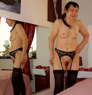 nasty naked brunette granny pics