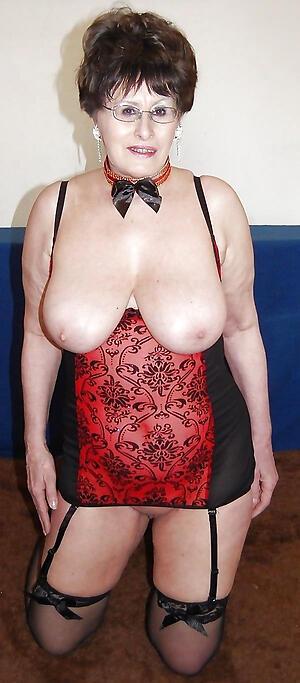 unorthodox pics of hot granny brunette