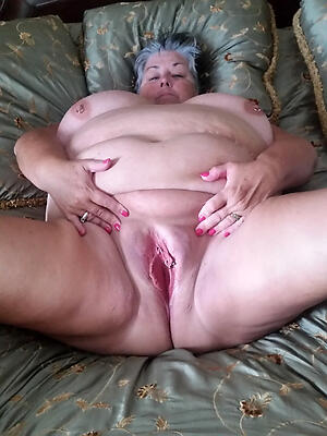 elderly women shaved pussy private pics