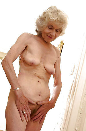 nude pics be fitting of old skinny granny pussy