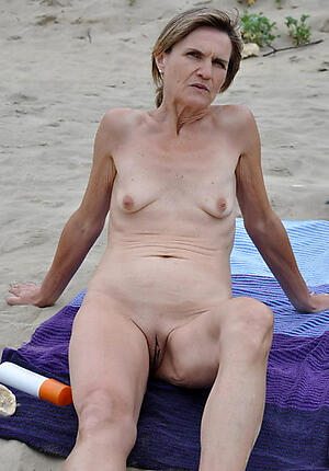 astounding granny at coast unorthodox pics