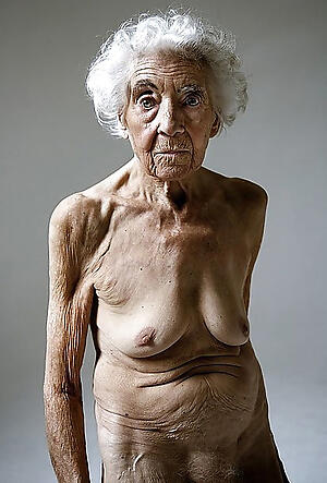 nude pics be proper of naked elderly grannies