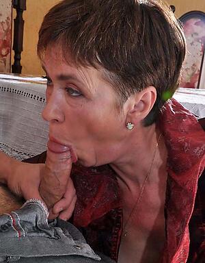 granny giving a blowjob amateur pics