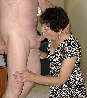 amazing not roundabout old granny blowjob
