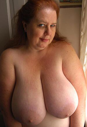 busty old grannies exalt posing nude