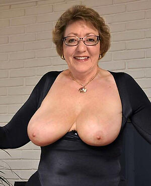 nasty granny with huge boobs