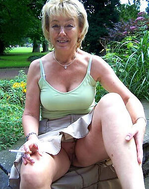 nasty old women upskirt