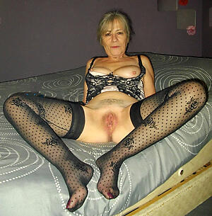 granny roughly stocking amateur slut