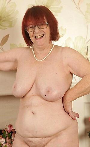 porn pics of morose mature redhead granny